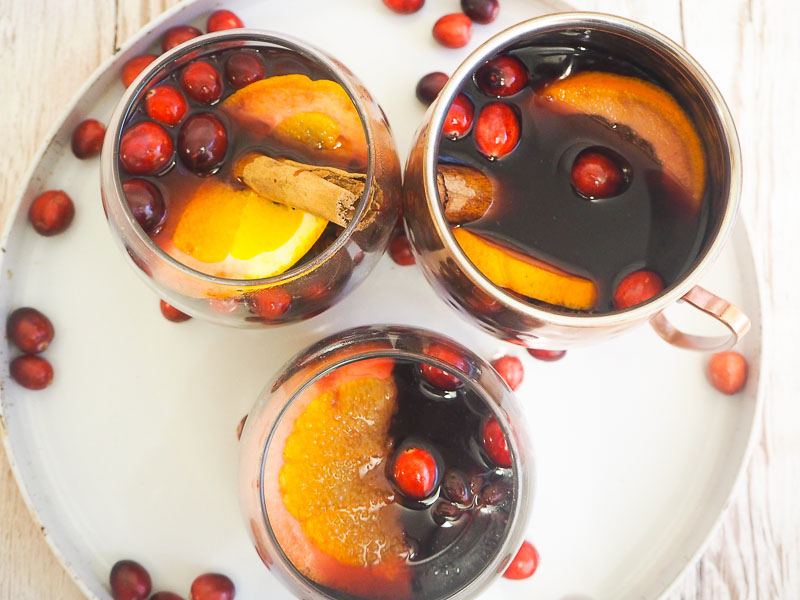 Mulled wine recipe food blogger