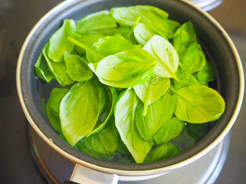 Basil Oil Recipe