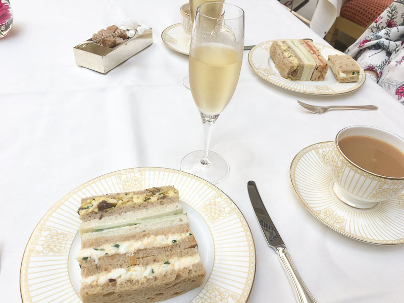 Afternoon tea at the Landmark London review
