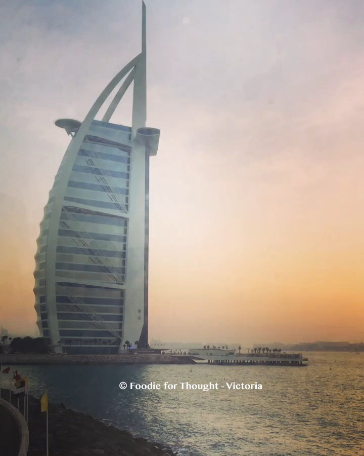 Burj Al Arab, Foodie for Thought Blog, Food and travel blog