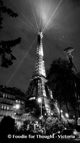 Eiffel Tower, Paris, Foodie for Thought Blog, Food and travel blog