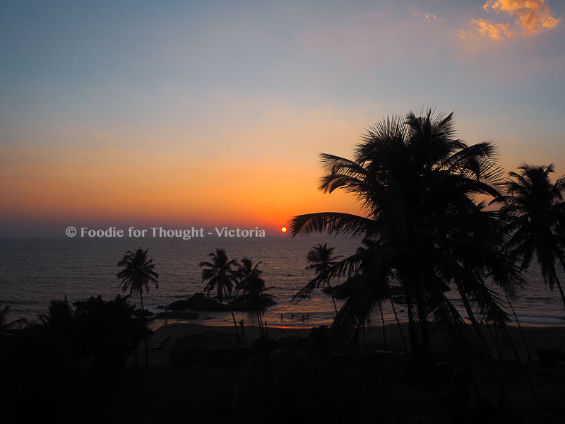 Goan Sunset Foodie for Thought Blog, Food and travel blog