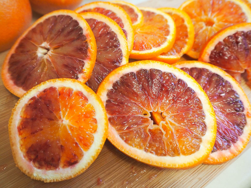 Blood Orange Upside Down Cake recipe food blogger