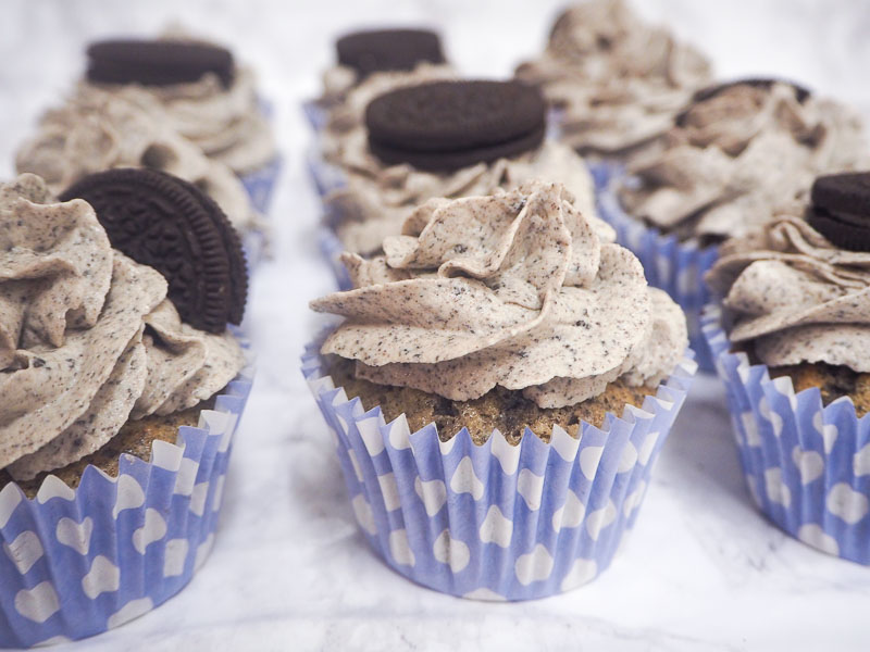 Oreo Cupcake Recipe, Food Blogger, Foodie for Thought