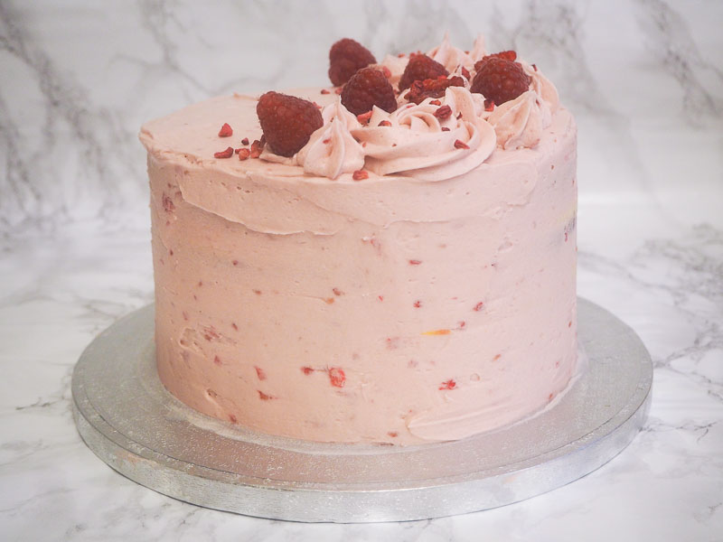 Blood orange and raspberry layer cake recipe, food blogger, foodie for thought