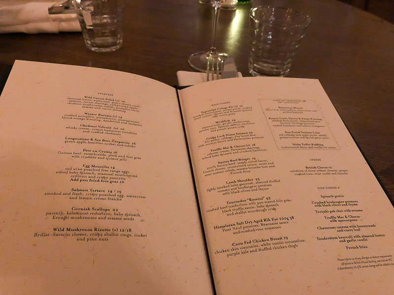 Wild Carrot Four Seasons Hampshire Review, Food Blogger, Foodie for Thought