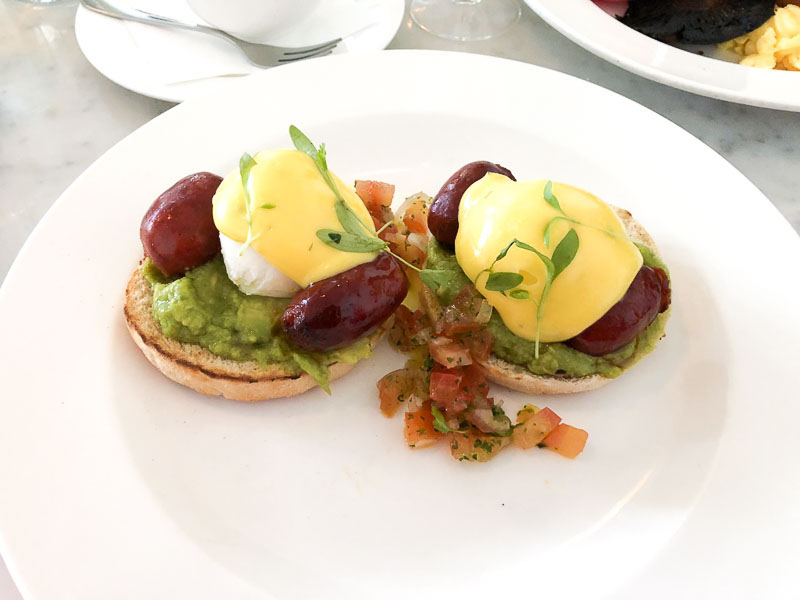 Bourne and Hollingsworth Brunch review, Food Blogger, Foodie for Thought