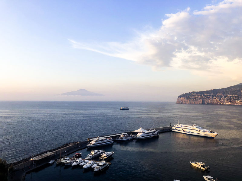 Sorrento travel blogger foodie for thought