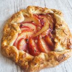 Peach galette, pastry, Baker, Food Blogger, Foodie for Thought