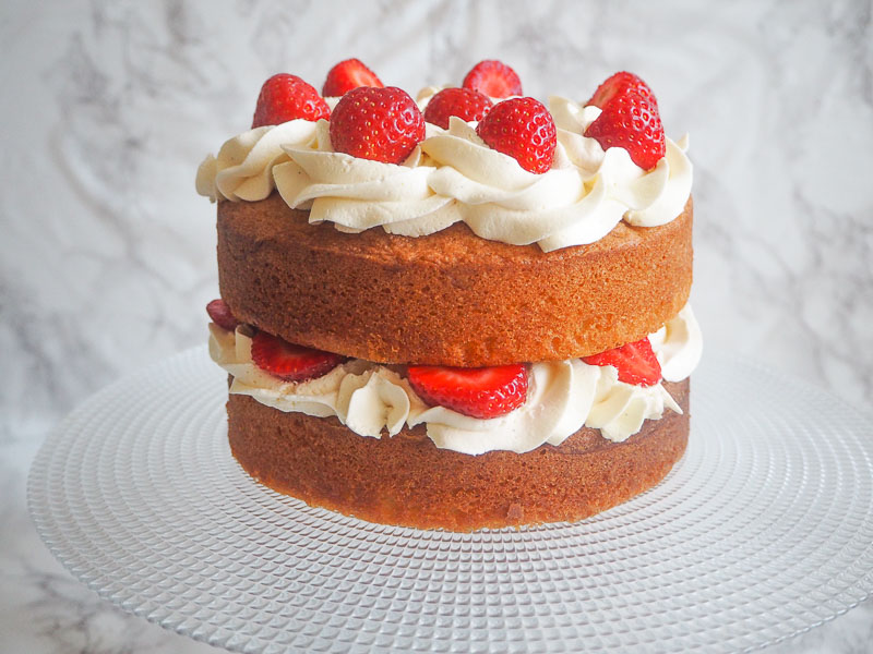 Victoria Sponge, Recipe, Cake, Baker, Food Blogger, Foodie for Thought